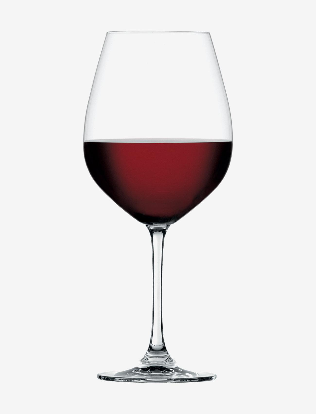 Spiegelau - Salute Burgundy Glas 81 cl 4-p - vinglass - clear glass - 1