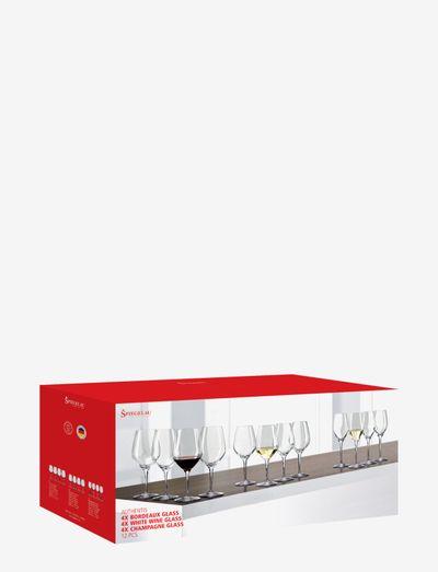Authentis Bonus pack 12-p - vinglass - clear glass