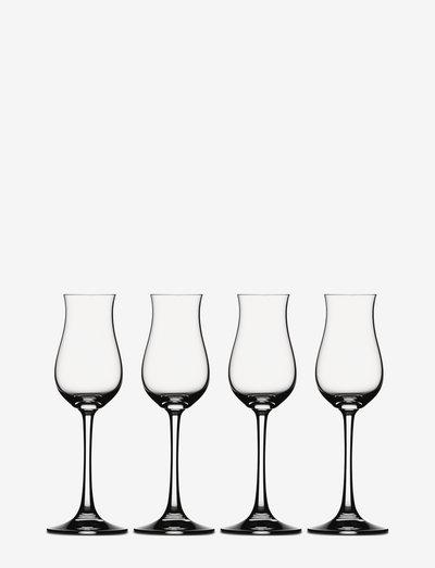 Digestive 13,5 cl 4-pack - whiskyglass & cognacglass - clear glass