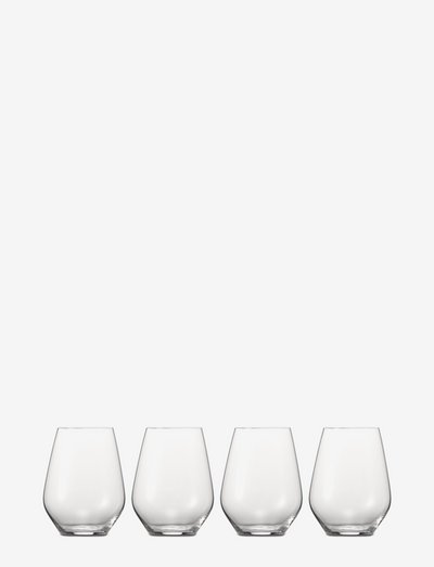 Authentis Casual Tumbler M 42 cl 4-pack - vannglass - clear glass