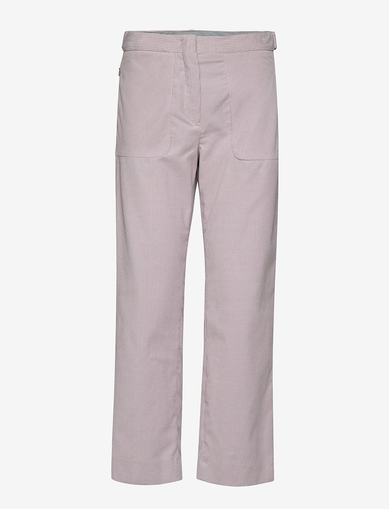 Sportmax Code - ROLANDA - leveälahkeiset housut - pearl grey