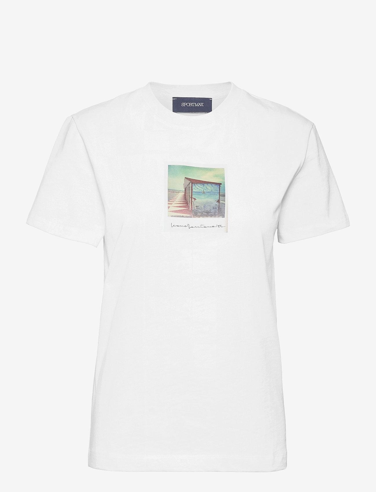 Sportmax - BULL - t-shirts - white - 0