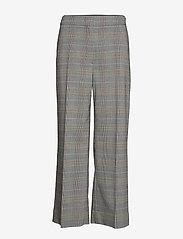 Sportmax Code - ANDREIS - leveälahkeiset housut - medium grey - 0