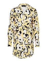 CENTRO - VANILLA FLORAL PRINT DRESS