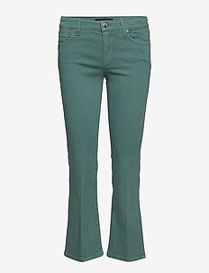 KADIAK - SAGE GREEN YARN DIED TROUSERS