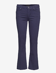 KADIAK - NAVY YARN DIED TROUSERS