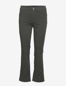 ROSSANA - straight jeans - mud