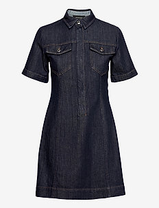 TEGLIA - shirt dresses - midnightblue