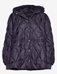 BADIA - quilted jackets - navy