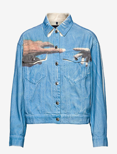 CIRINO - denim jackets - ivory