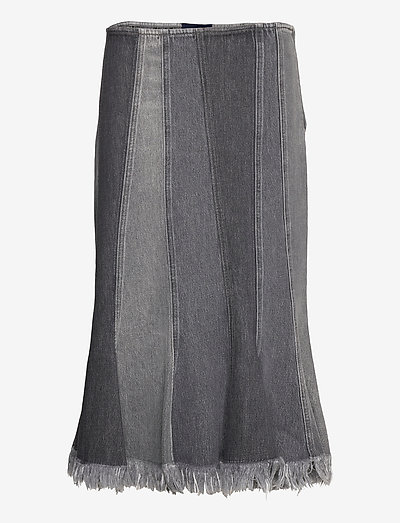 USA - midi kjolar - black