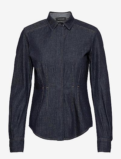 ALBATRO - denim shirts - midnightblue