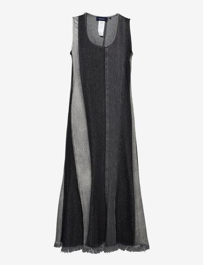 PERGOLA - jeansklänningar - black