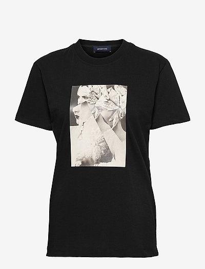 EGADI - t-shirts - black