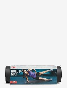 SPRI ROLL UP MAT - træningsmåtter - black