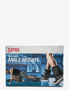 SPRI ADJUSTABLE ANKLE WEIGHTS - gewichten - black
