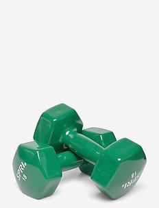 SPRI DUMBBELLS VINYL 8,2kg/18lb PAIR - vikter - green
