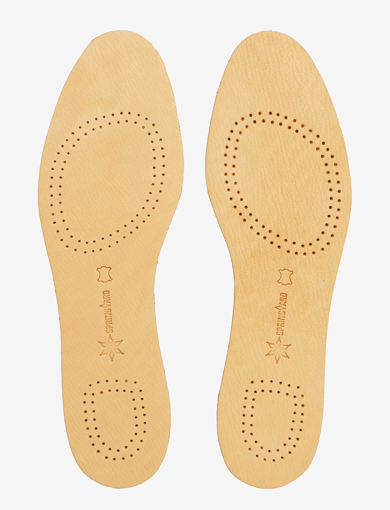 Springyard - Leather Insoles Therapy - soles - natural - 1