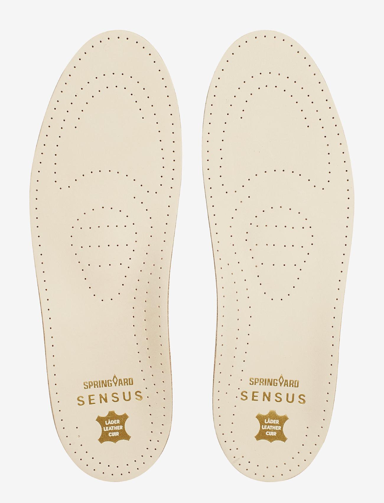 Springyard - Sensus Leather - sohlen - natural - 0