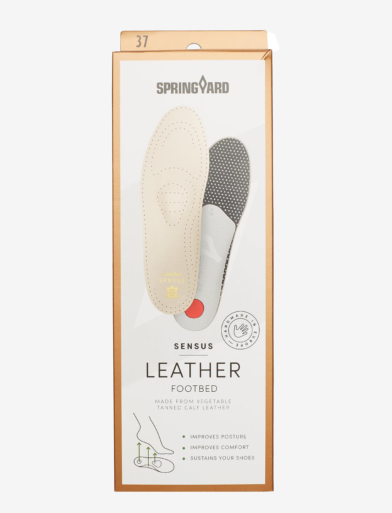 Springyard - Sensus Leather - wkładki - natural - 2