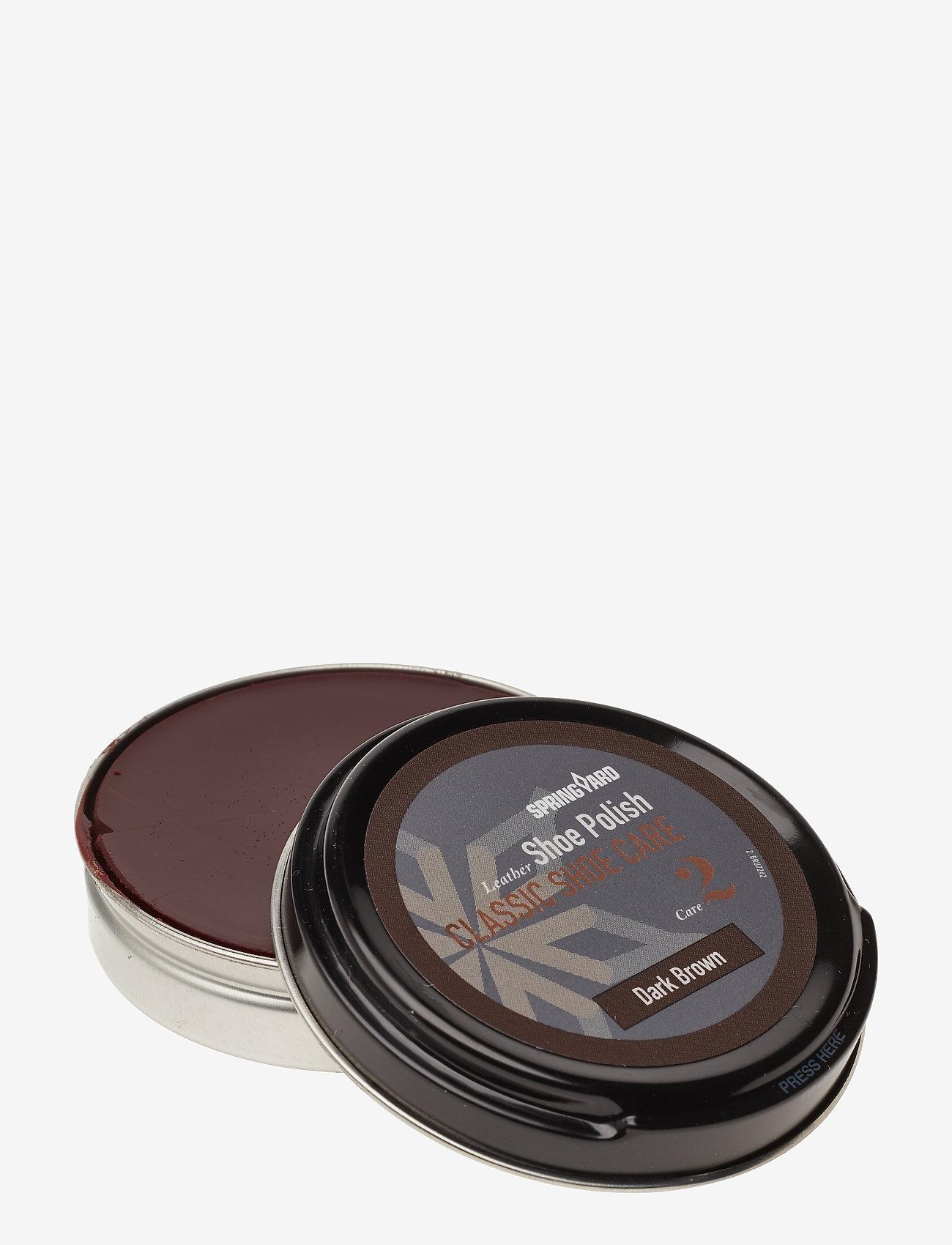 Springyard - Shoe Polish - dark brown - 1