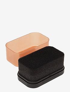 Leather Shine Sponge black - shoe protection - neutral