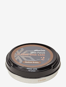 Shoe Polish - schuhschutz - medium brown