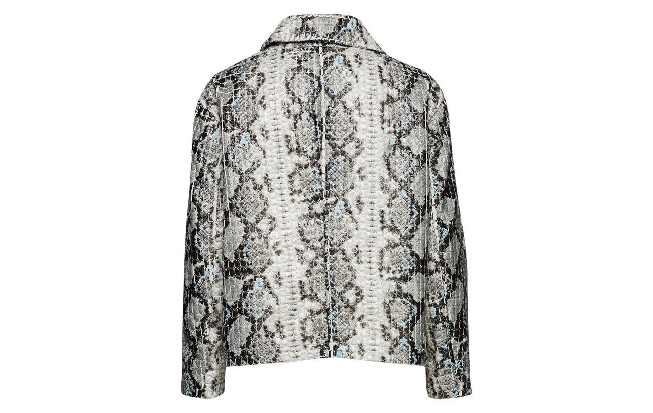 White Intérieure Stand Équipement 100 Off Polyester Jacket Doublure Marthe CO4tqH4