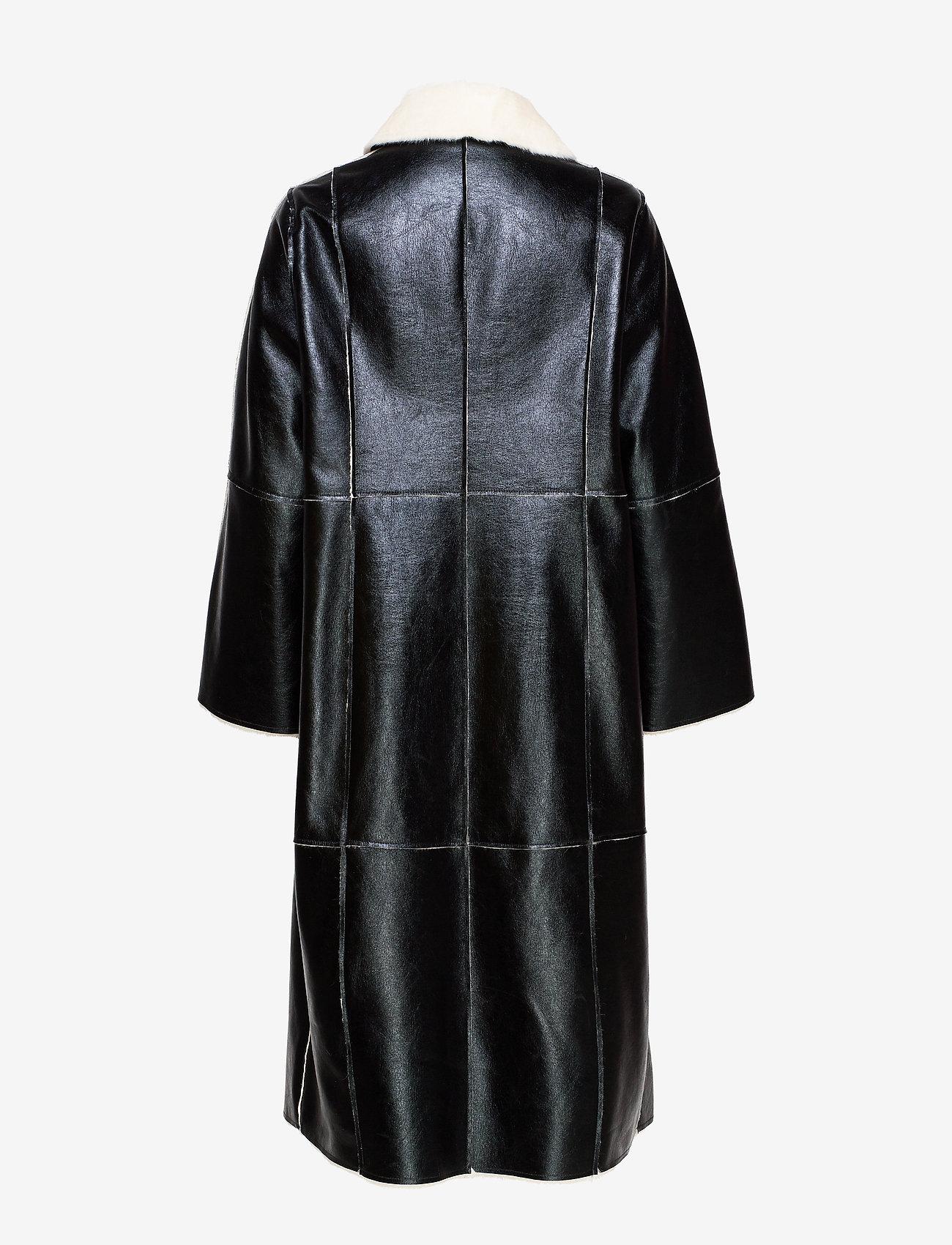 Nino Coat (Black/white) - Stand Studio JYUQe4