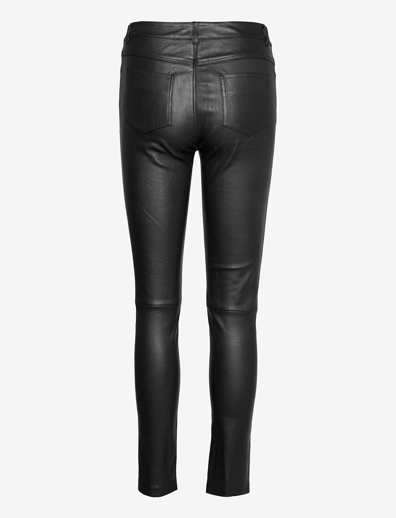Stand Studio - Stella Jeans II - læderbukser - black - 1