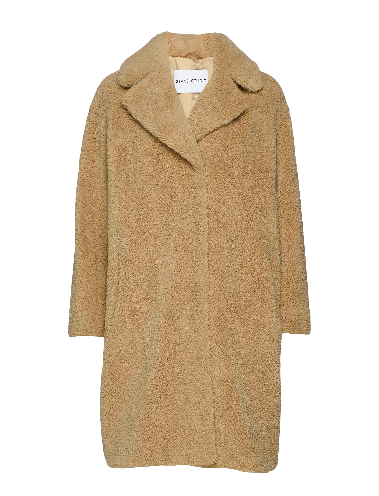 Stand Camille Cocoon Coat - BEIGE