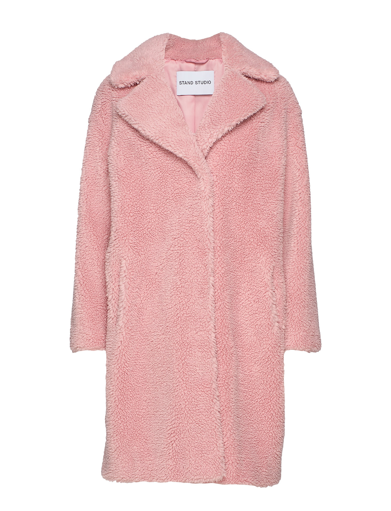 Stand Camille Cocoon Coat - LIGHT PINK