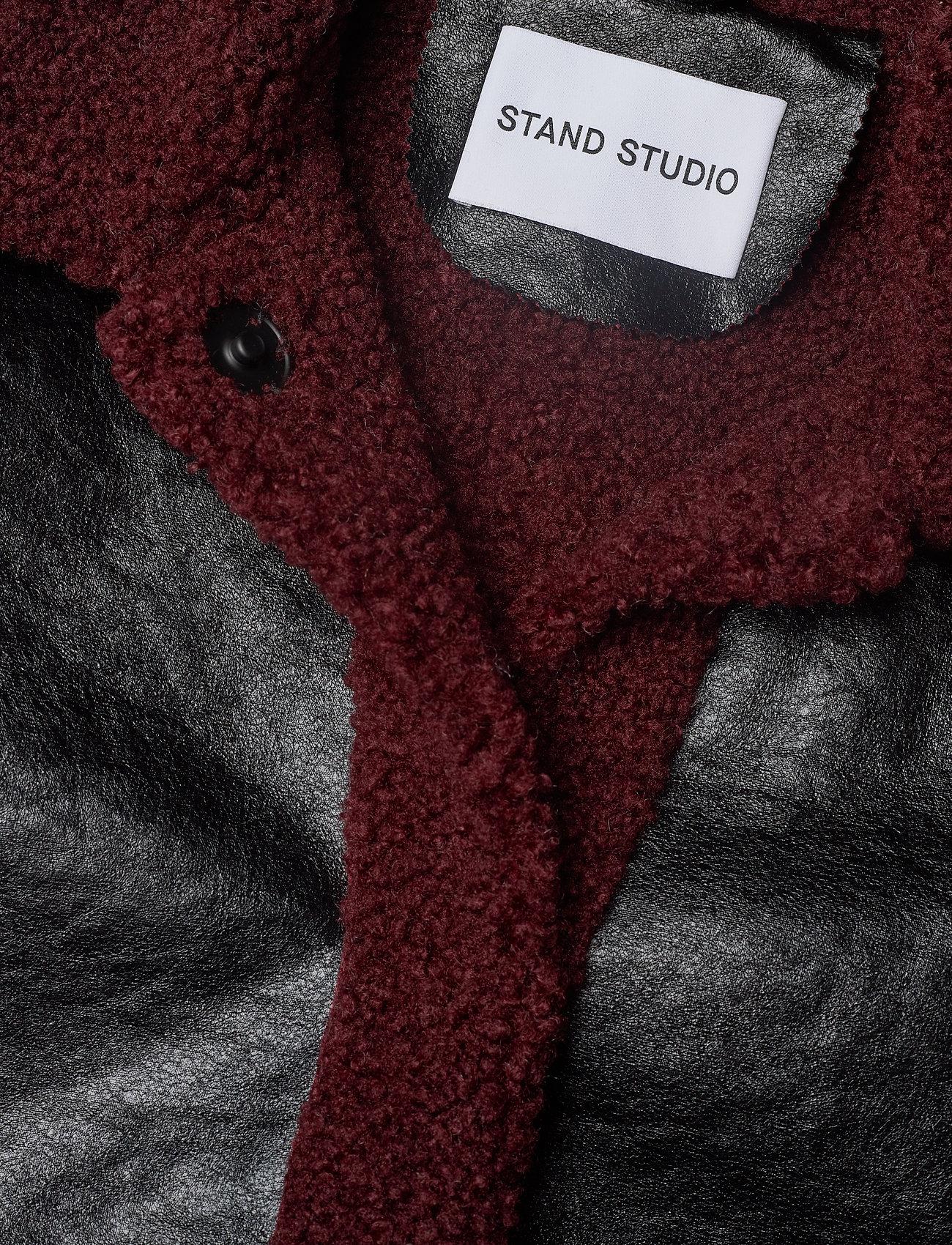 Stand Studio Haley Jacket - Jackor & Kappor Black/burgundy