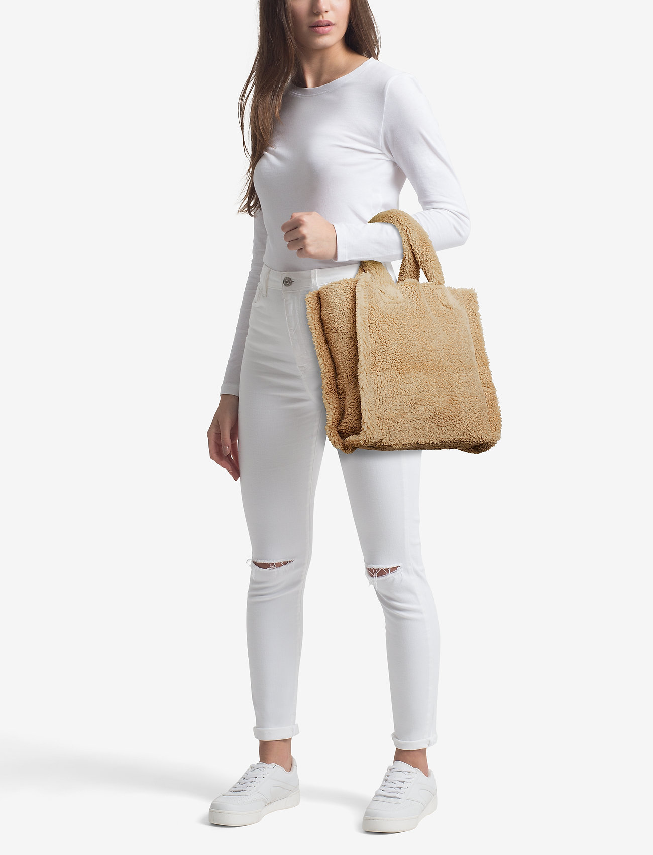 Stand Lolita Bag - BEIGE