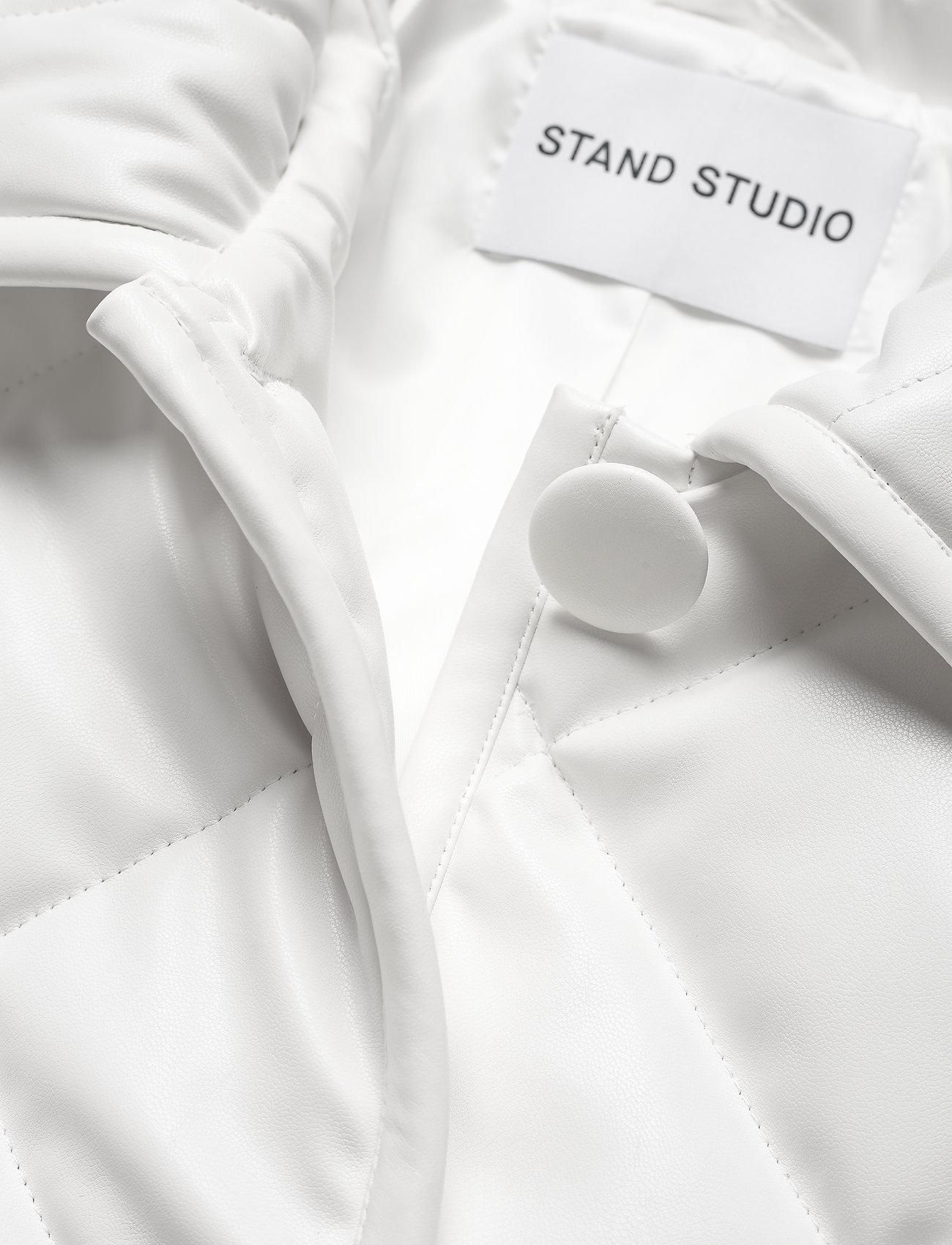 Stand Studio - Jacinda Puffy Jacket - steppjacken - white - 2