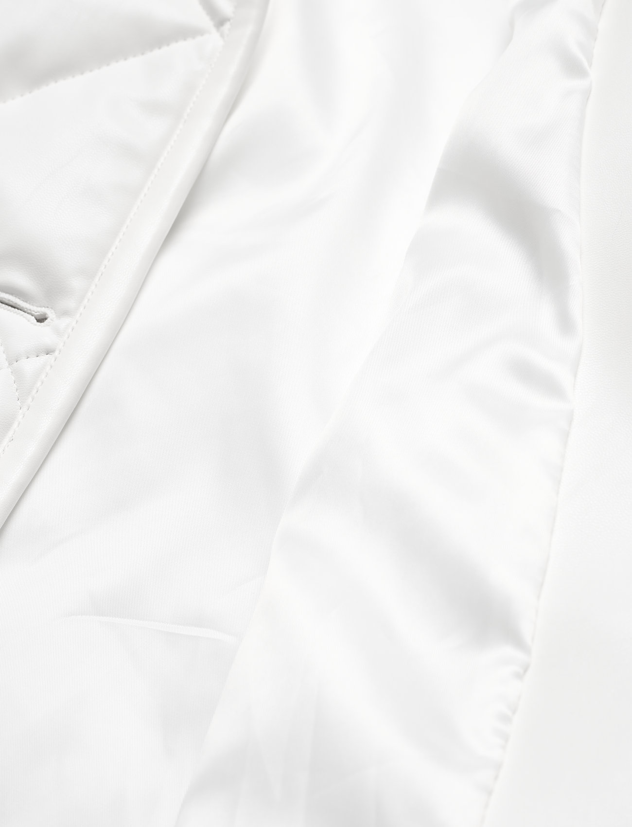 Stand Studio - Jacinda Puffy Jacket - steppjacken - white - 4