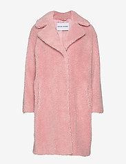 Stand Studio - Camille Cocoon Coat - sztuczne futro - light pink - 1
