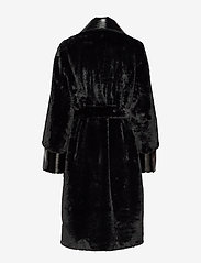 Stand Studio - Pamella Coat - faux fur - black - 3