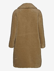 Stand Studio - Camille Cocoon Coat - faux fur - beige - 1