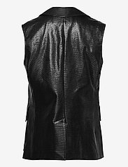 Stand Studio - Melba Vest - puffer vests - black - 1