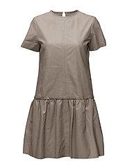 Rosa Dress - TAUPE