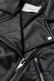 Stand Studio - Item Jacket II - nahkatakit - black - 3