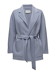 Cecille Coat - LIGHT BLUE