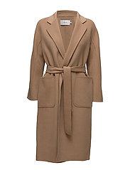 Claudine Coat - CAMEL