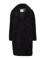 Camille Coocon Coat - BLACK