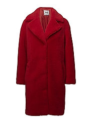 Camille Coocon Coat - RED