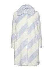 Georgine Coat - BABY BLUE