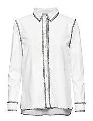 Gabi Shirt - WHITE/BLACK