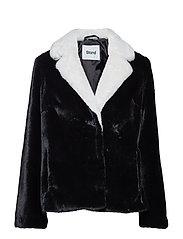 Mariska Jacket - BLACK/OFFWHITE