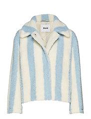 Marthe Jacket - BABY BLUE/ OFF WHITE